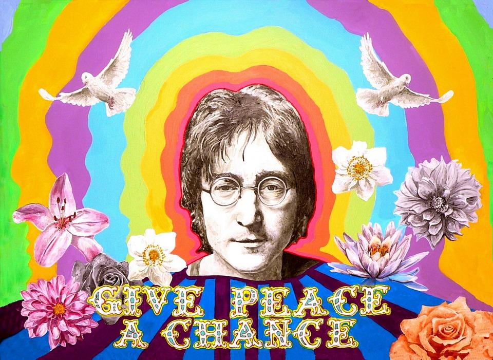 25 maart 1969: Bed-in for Peace actie John Lennon en Yoko Ono