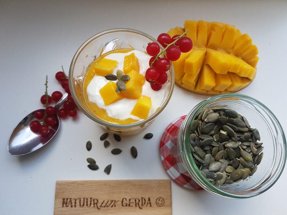 Geen zomer zonder Gerda's mango smoothie