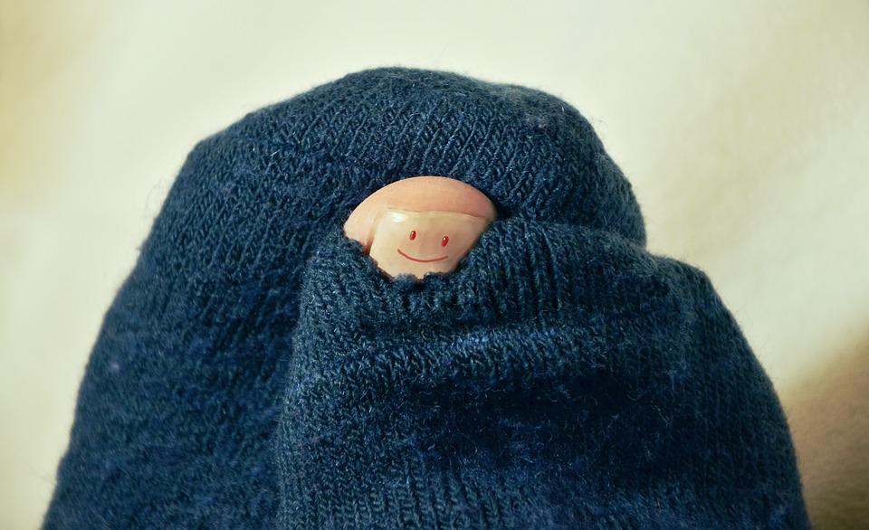 Alleenstaande sokken, het blijft een mysterie