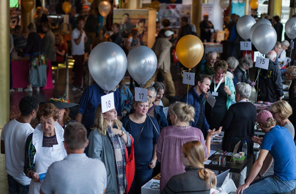 Grootste beurs voor vrijwilligerswerk op 29 september in Leeuwarden