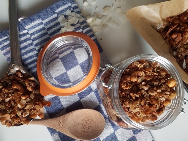 Gerda's handgebakken granola