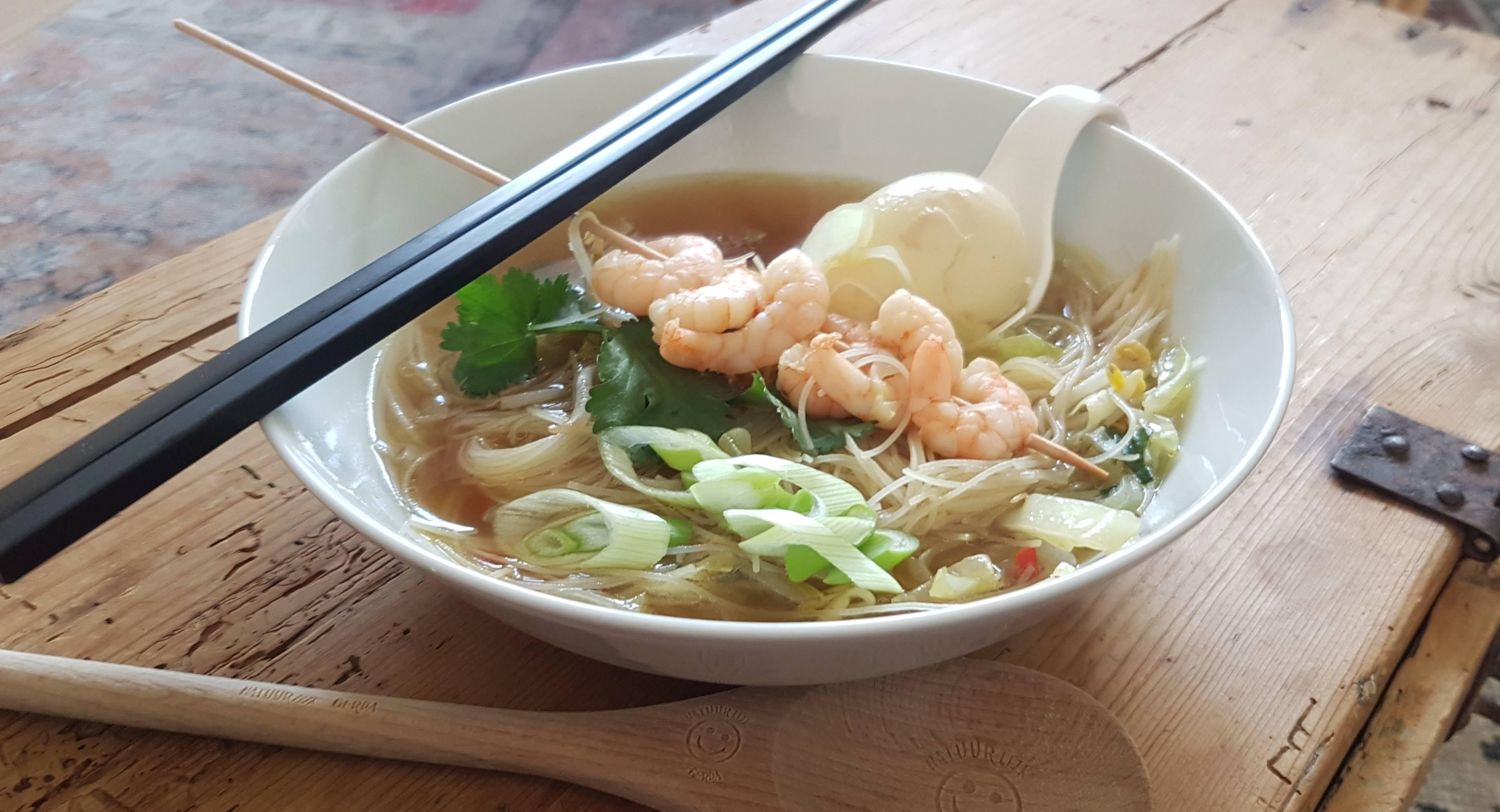 Gerda's chopsticky soup