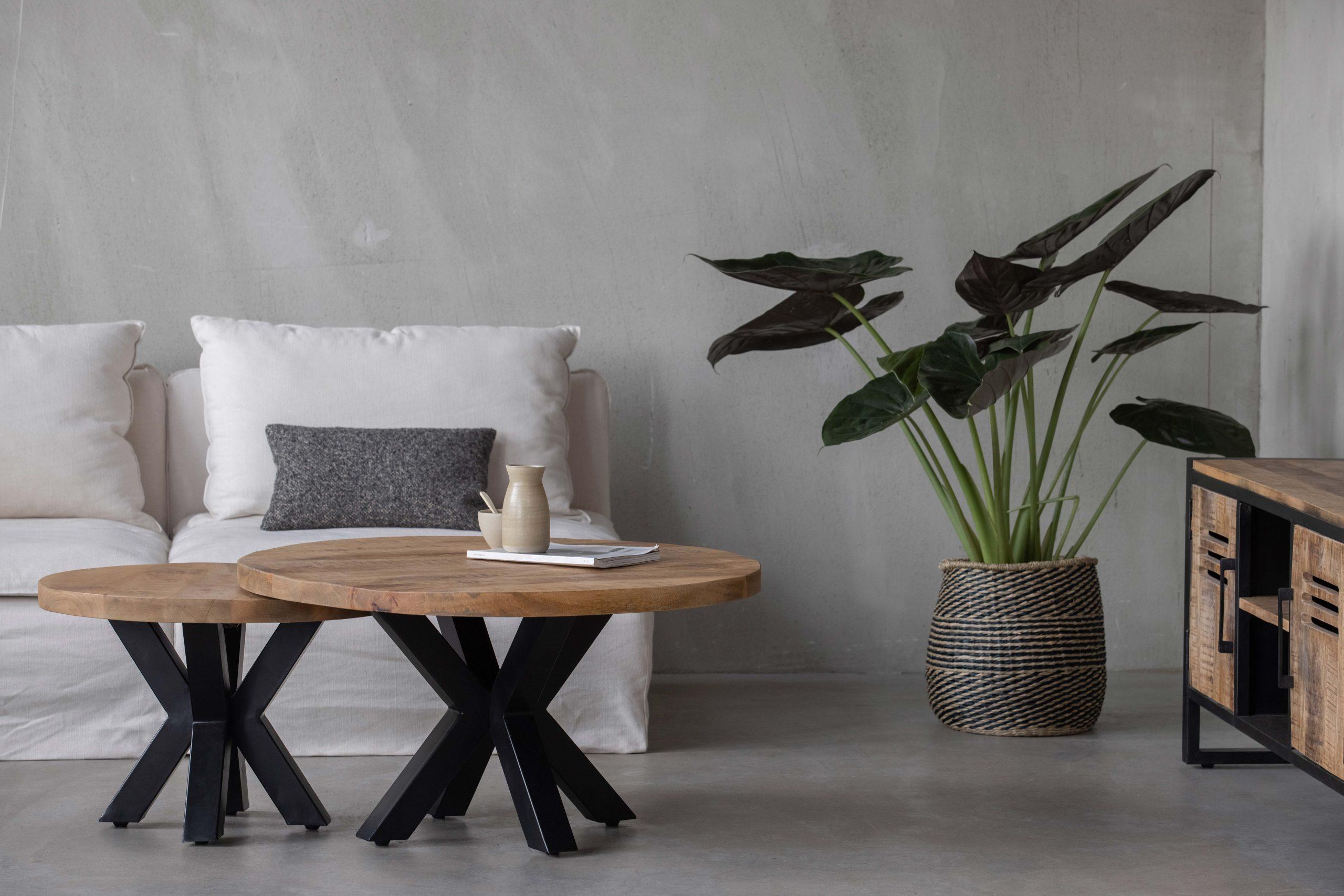 Ontdek de aantrekkingskracht van mangohouten salontafels