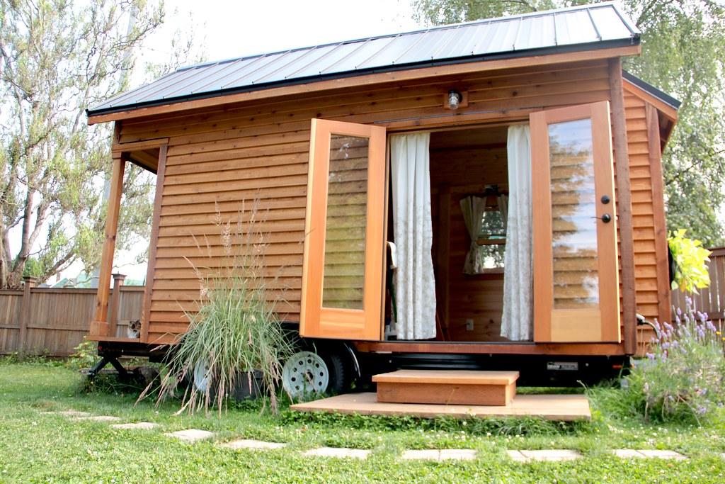 Trendy Tiny House of belegen bungalow?