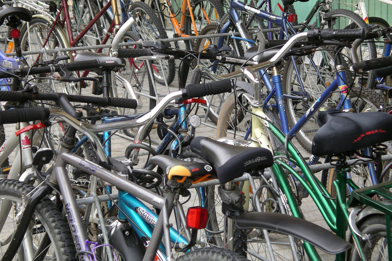 Amsterdammers fietsen het langzaamst