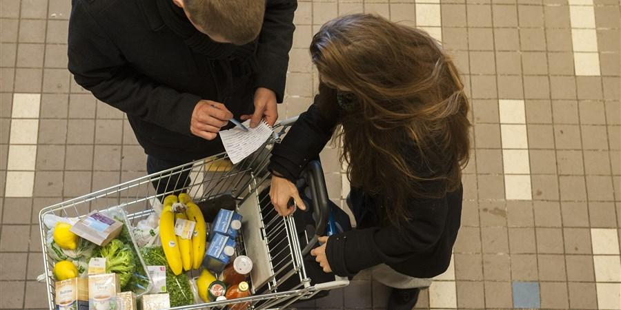 Gezonder eten stijgt meer in prijs dan ongezonder eten