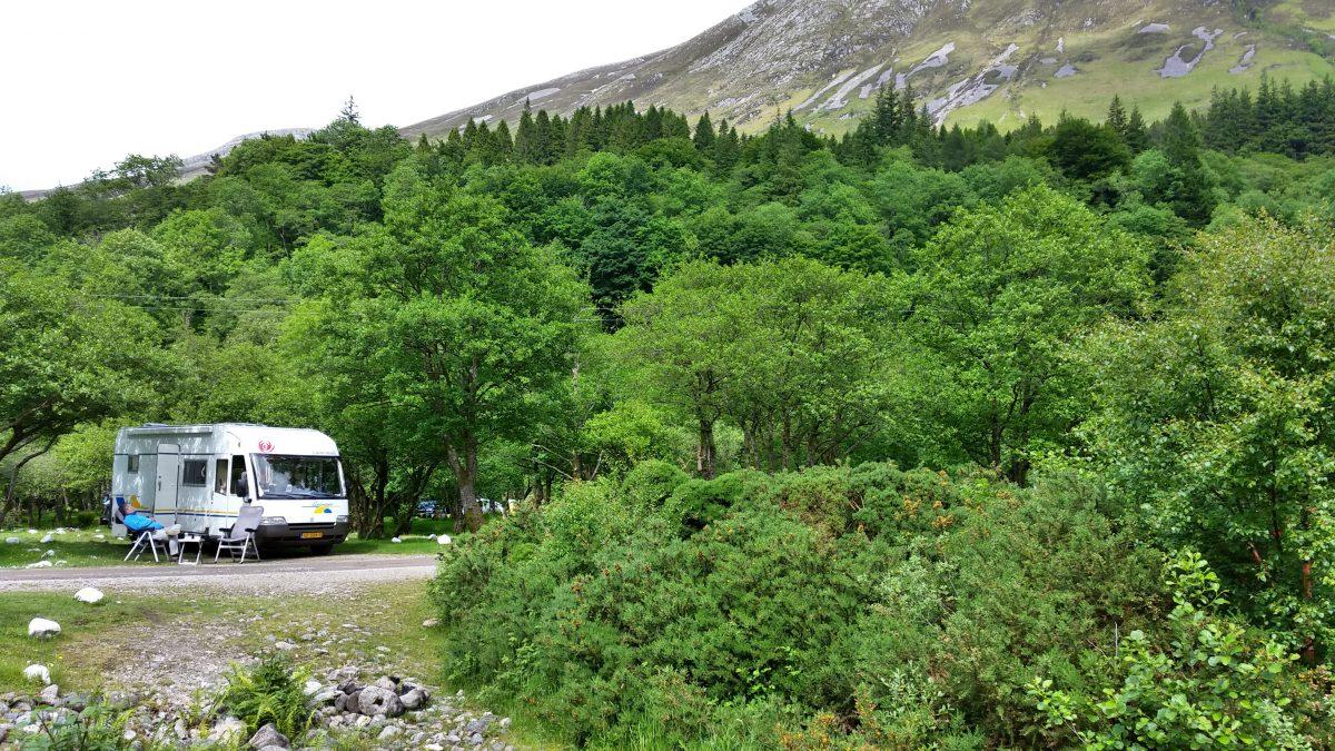 Uitzicht camping