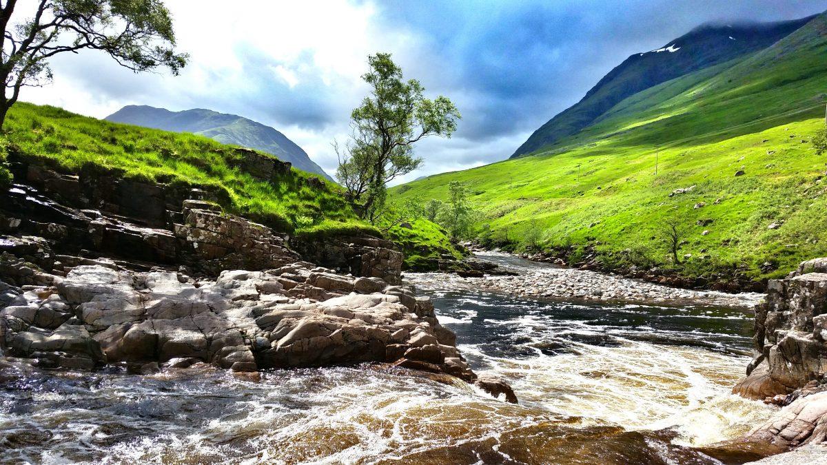 Woeste rivier