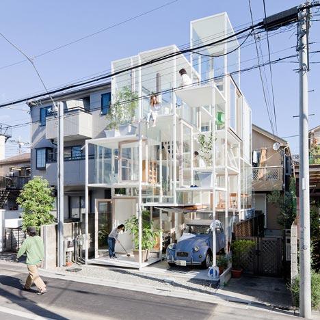 Transparant huis