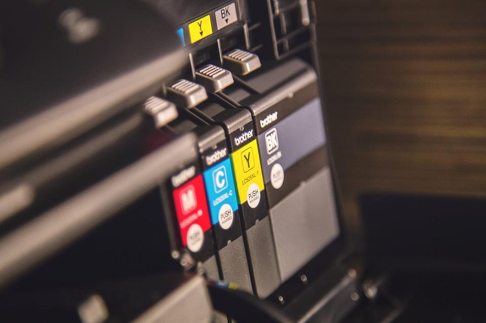 Ook printerinkt vervuilt onze lucht