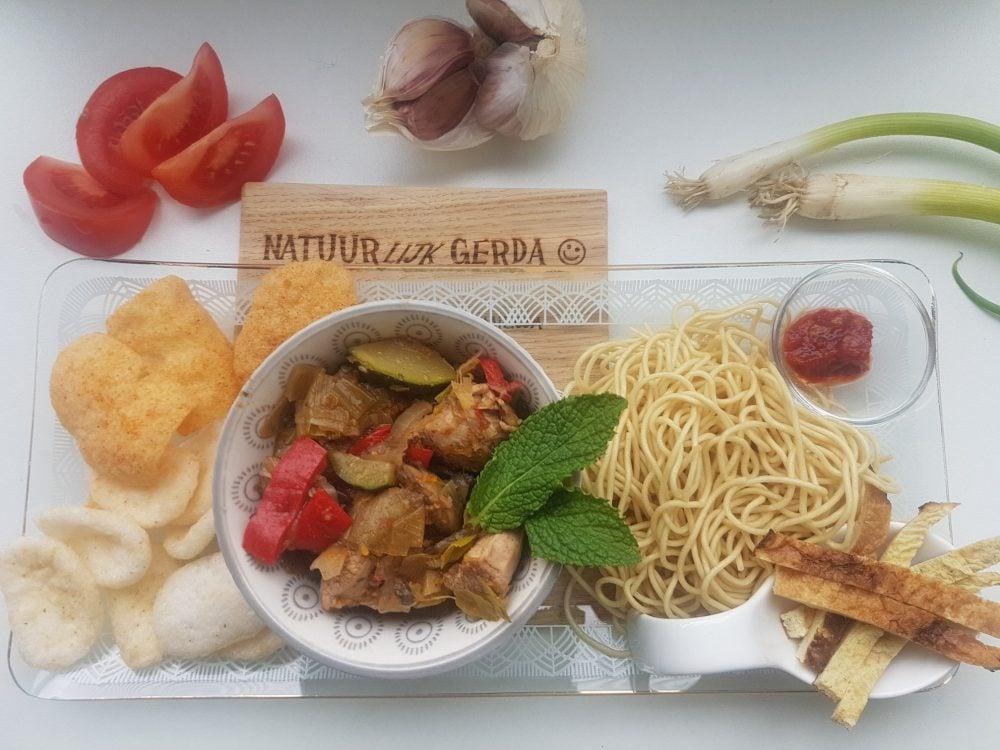 Gerda's recept: van een nest merels tot nestjes bami