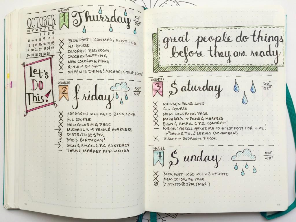 Calendar Templates With Time Slots : Weg met de digitale agenda begin een bullet journal