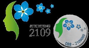 Logo en speld