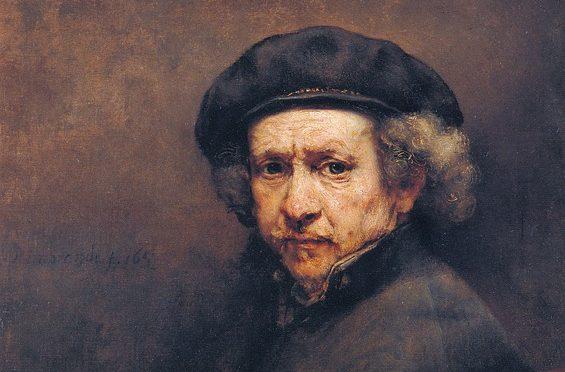 Een zekere garantie voor echtheid: Rembrandt hield van een selfie
