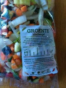 zak groente