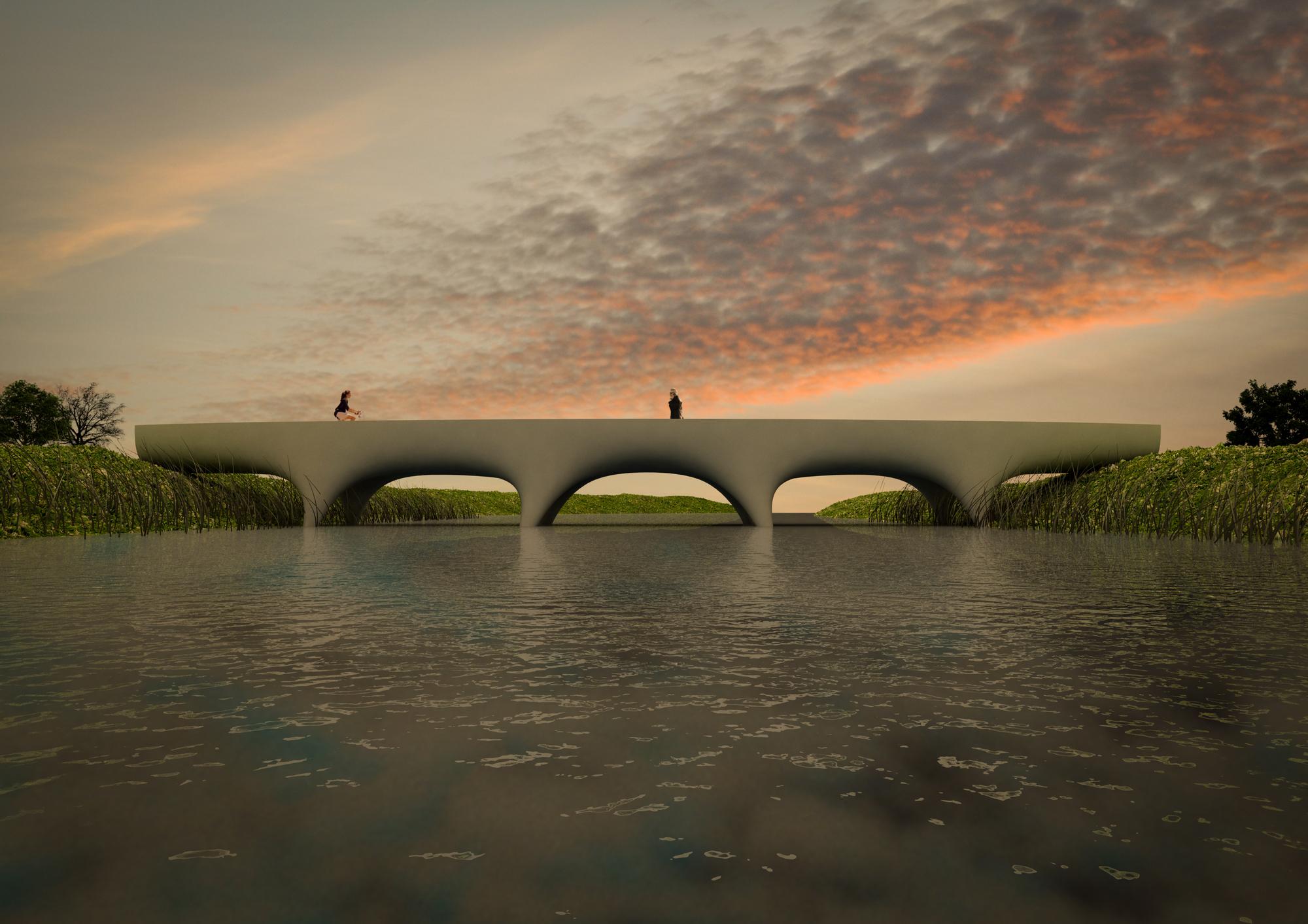 Nijmegen krijgt langste betonnen 3D-geprinte voetgangersbrug ter wereld