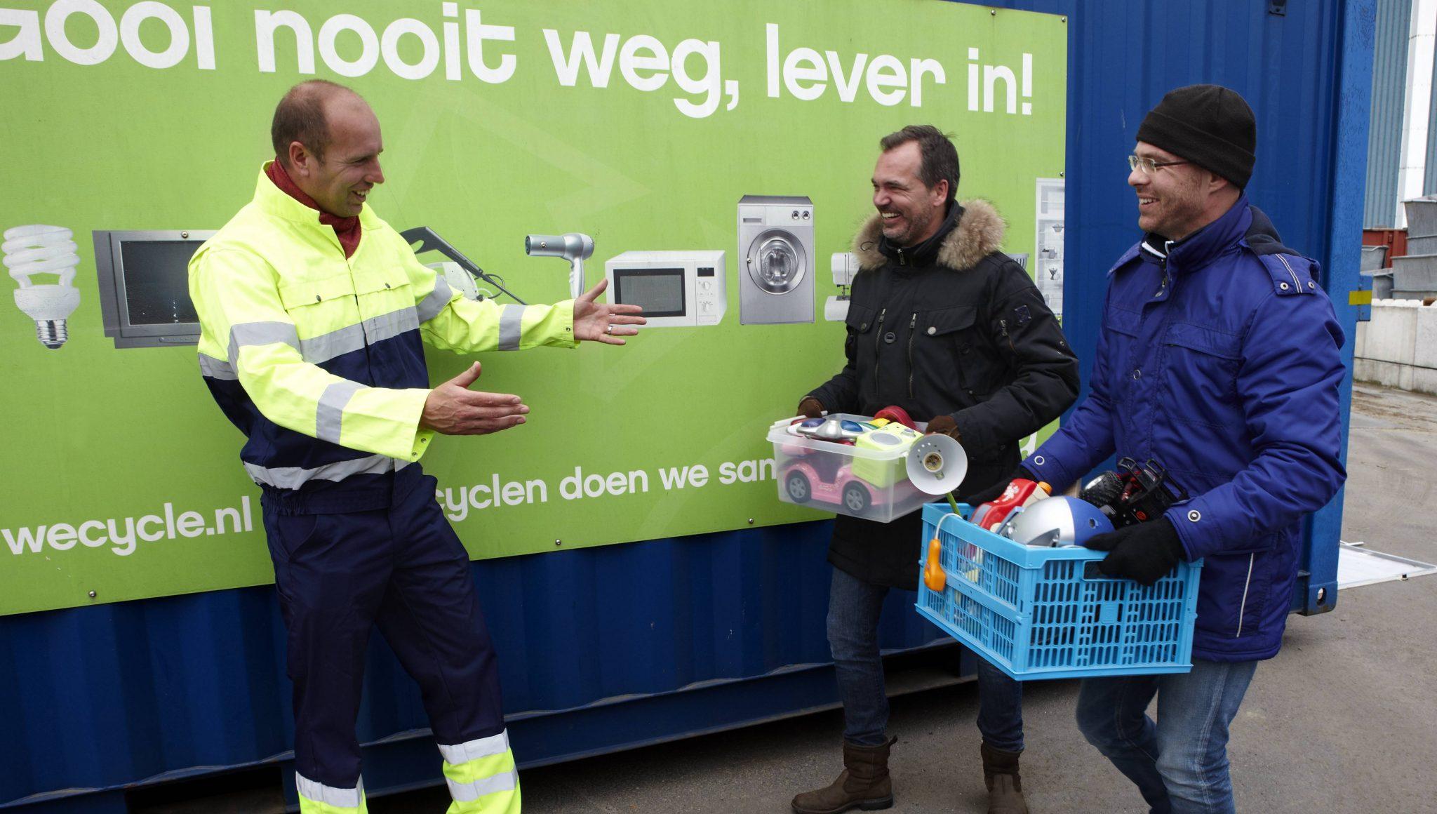 Lokaal goed doel maakt kans op Wecycle-cheque van 1.000 euro