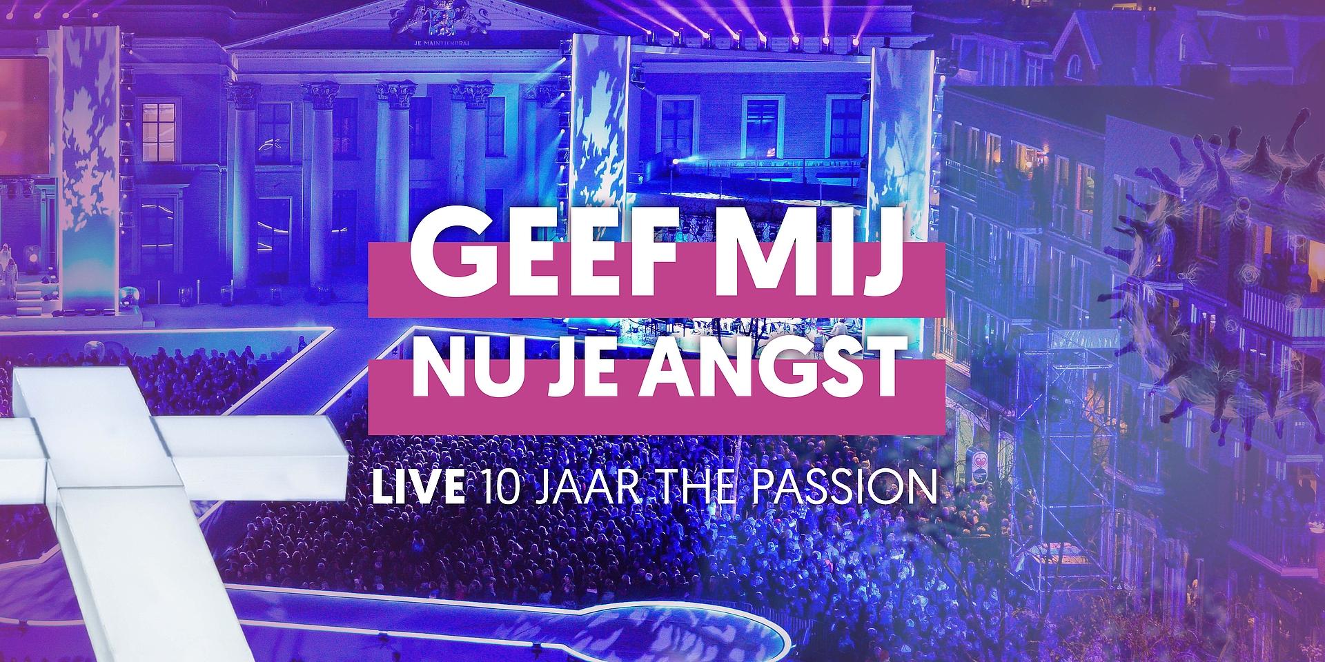The Passion toch op televisie met aangepaste jubileumeditie