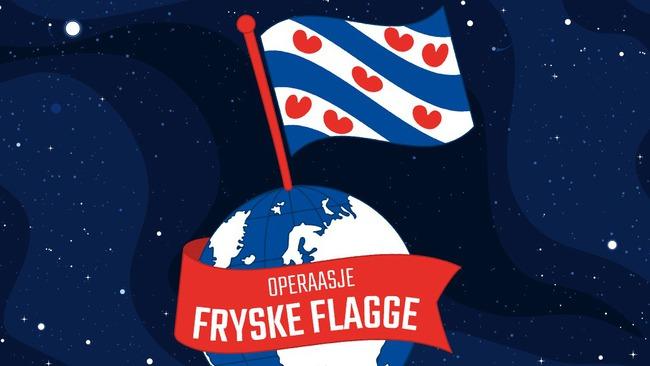 Actie voor een Friese vlag emoji: 'Operaasje Fryske Flagge'